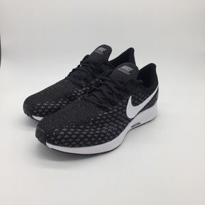 Men's Nike Air Zoom Pegasus 35 Black Running Shoes